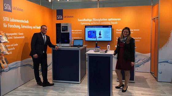Analytica 2018德国分析生化展SITA展台